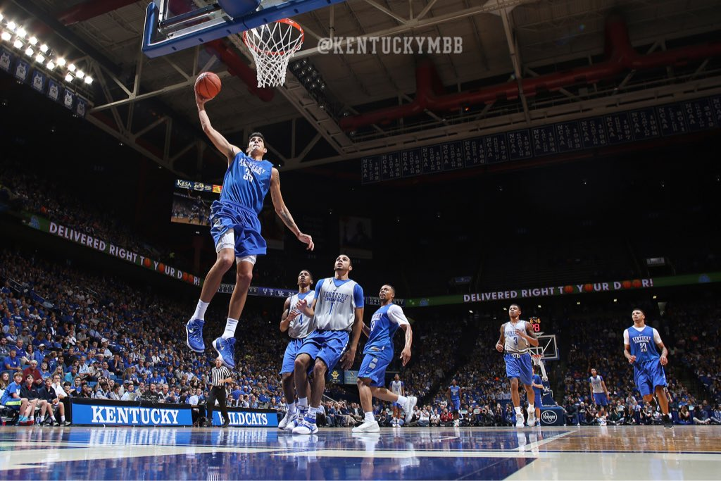 Uk Basketball: Highlights From The Blue-White Game