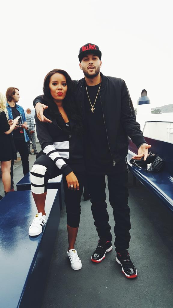 Don Benjamin And Angela Simmons
