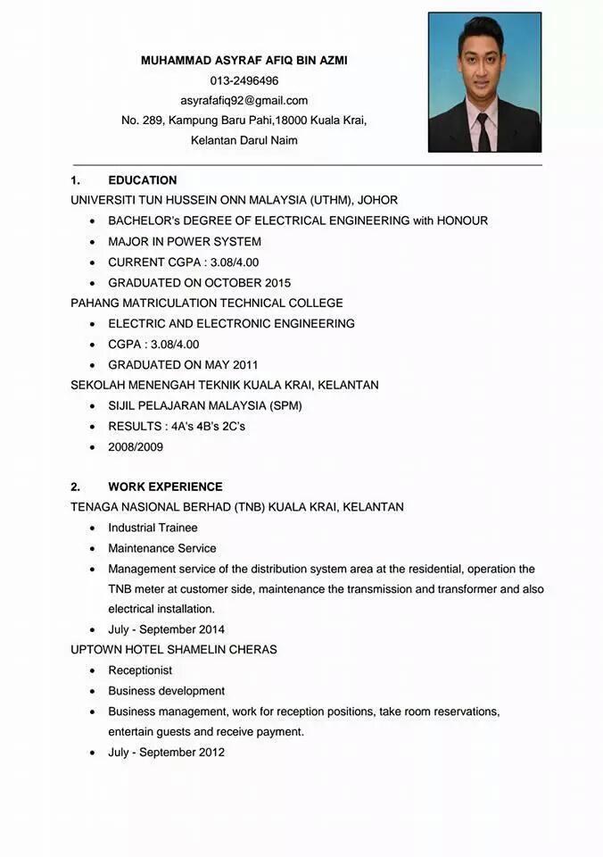 contoh resume sri   Deep Foundation Home Design Resume CV Cover Leter Contoh Surat Resume Kerja Bahasa Malaysia