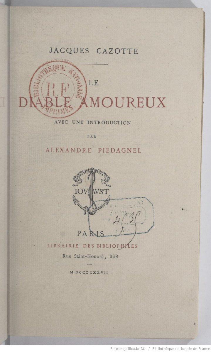 Cazotte's #LeDiableAmoureux 1878 should have #FelicienRops illus. not Buhot @Franz_M_W_Marc @anfigorey @Libroantiguo https://t.co/VWxvfCva7k