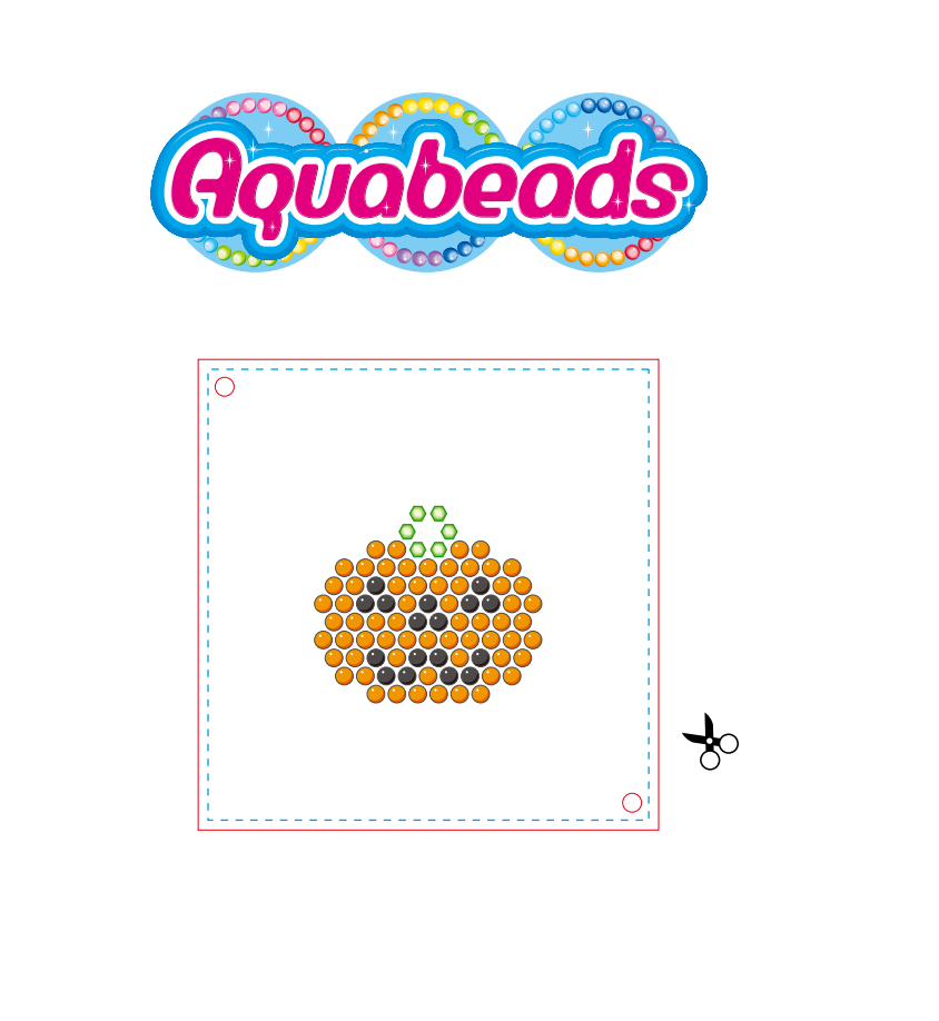 Fancy aqua beads templates ornament professional resume for Free beados templates