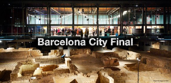 Today is the day for #SCAH_BCN After 6 months +400 participants, 10 best #apps pitch tonight https://t.co/dcpFhOLxmg https://t.co/AbmIvvZDMh