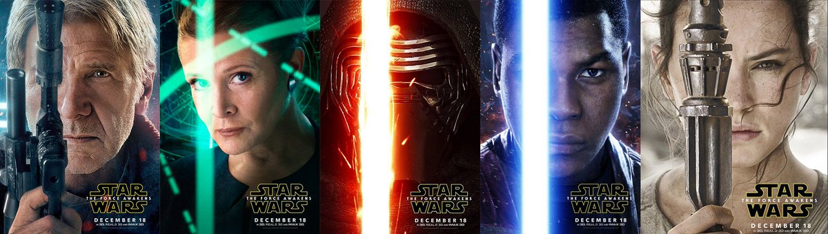 Some #StarWars character posters were released today. https://t.co/YvqAXZ6Mmh