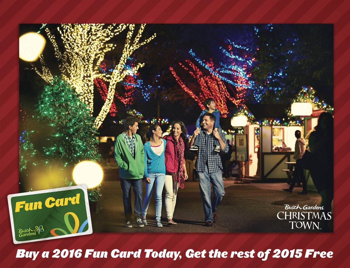 Busch Gardens Christmas Town Tampa.Busch Gardens Tampa Bay On Twitter Christmas Town Is Back