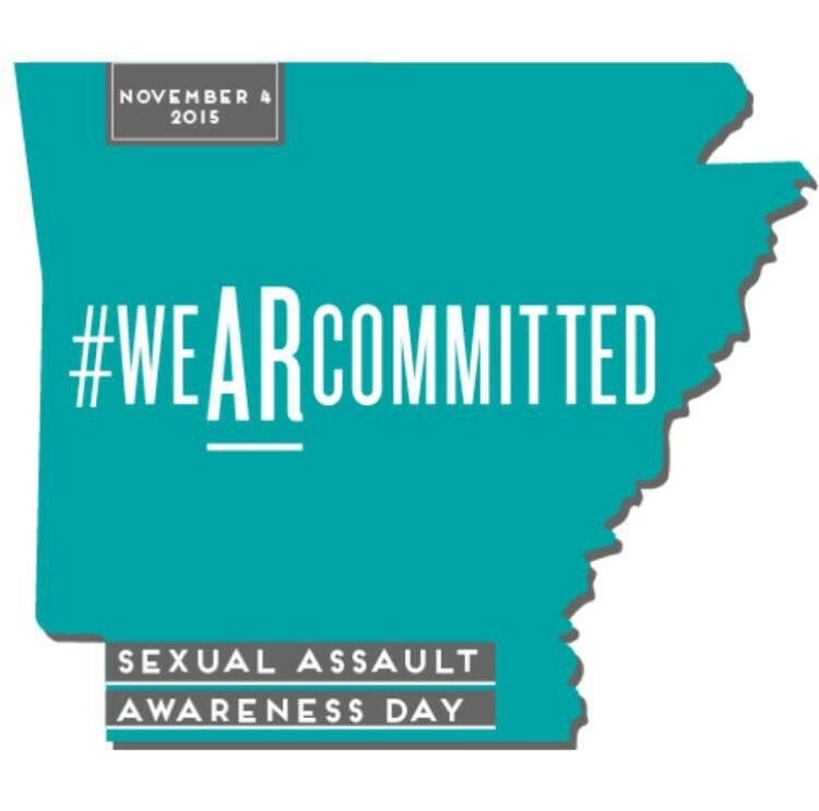 Proud to join @UofAASG in support Sexual Assault Awareness and Prevention. #weARcommitted https://t.co/7C6j8jJJZ0