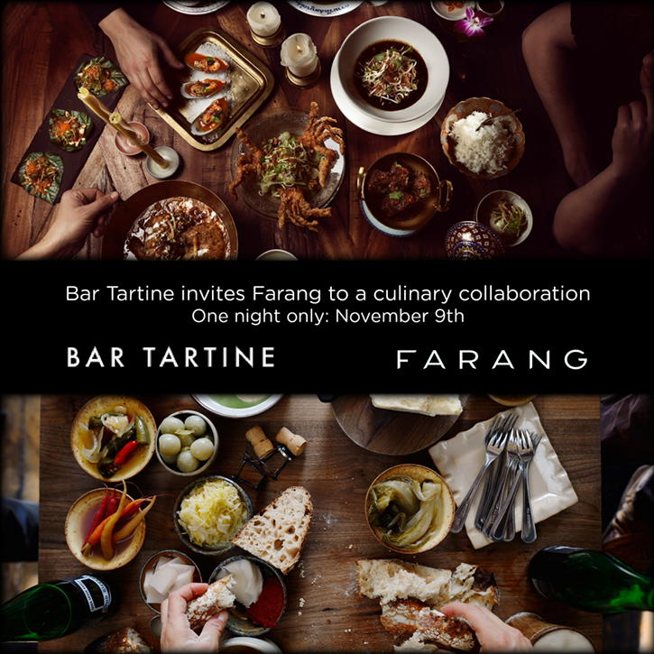 Welcome Farang! Swedish/Thai fusion meets SF/Laotian Monday 11-9  !?!? https://t.co/m01BY2u6x6