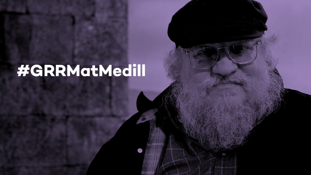 Thumbnail for Medill presents Hall of Achievement award to George R.R. Martin (BSJ70, MSJ71)