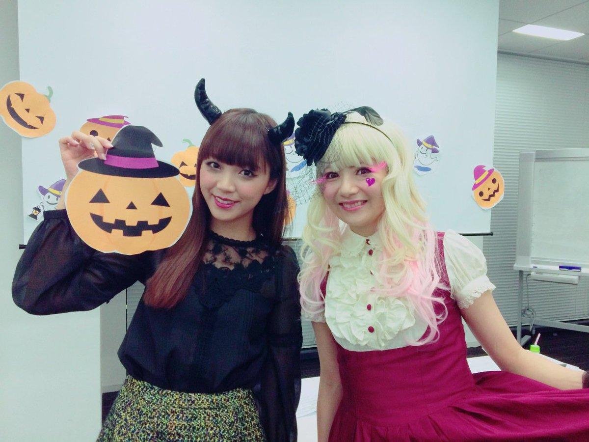 あけちゃんのニコ生楽しかったーん♪( ´θ`)ノ今年はデビルだよー♥️あけちゃんお人形さんみたいでキレイ♥️ pic.twitter.com/M2PfgduRbC