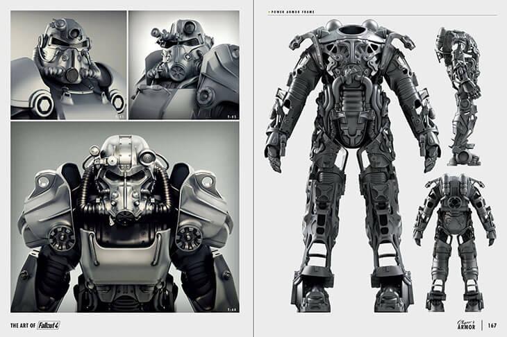 Concept Art Fallout Four Deathclaw