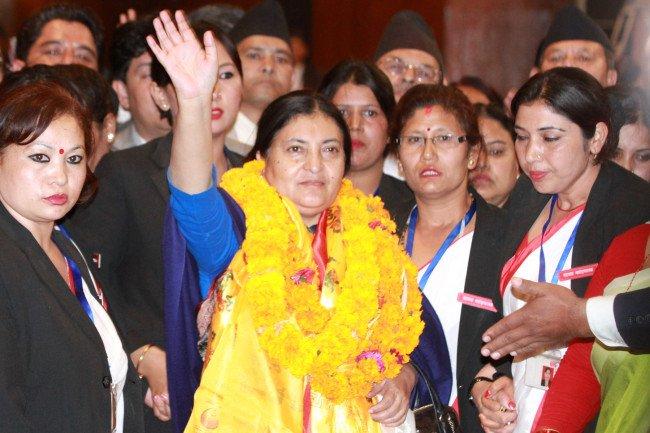 नवनिर्वाचित राष्ट्रपतिलाई गैरआवासीय नेपाली संघको बधाई