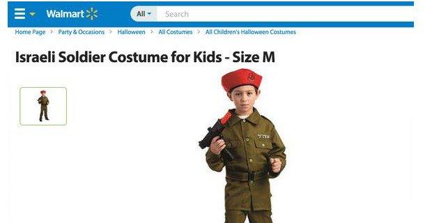 Paul Joseph Watson on Twitter  Walmart Bans Sale of u0027Racistu0027 Israeli Soldier Halloween Costume - //t.co/pCNCaDjTlK //t.co/xAnGB89uCc   sc 1 st  Twitter & Paul Joseph Watson on Twitter: