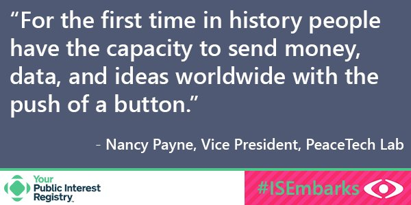#ISEmbarks On the subject of social change and Internet activism: https://t.co/XpknQAhaED