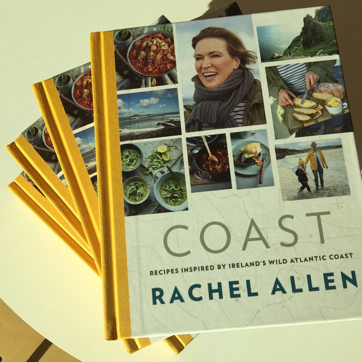 #RachelsCoastalCooking starts Mon,7pm & we've 5 @RachelAllen COAST cookbooks to give away!Follow us & RT this to win https://t.co/qKjhDRAqeH