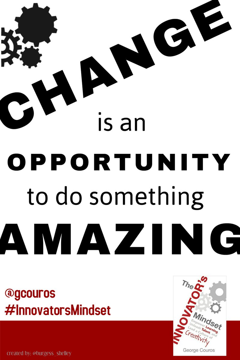 Image result for change is an opportunity to do something amazing