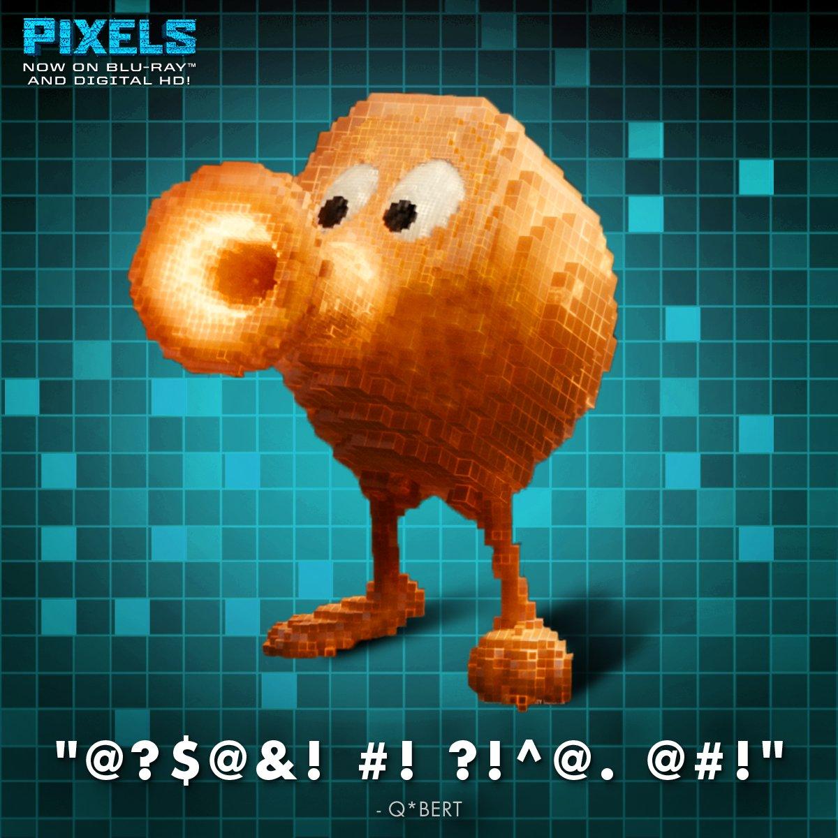 Pixels On Twitter Qbert Thought PixlesMovie Was A SYMBOLic Masterpiece Tco YC3Z9rRXH1 4yD84bgjmA