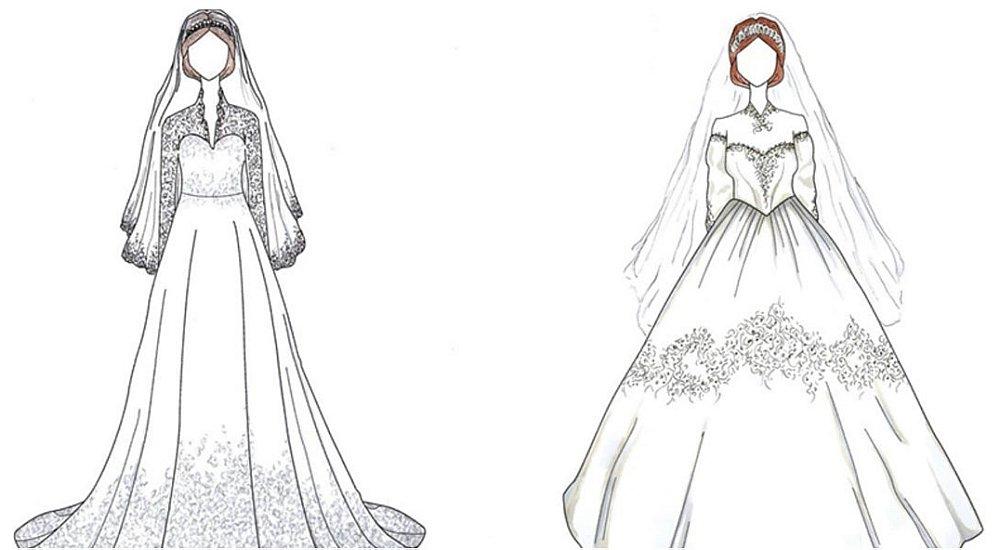 Desenhos Vestidos Noiva Icônicos Celebridades Via