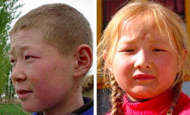 Les Chinois blonds et leurs origines Chine Informations