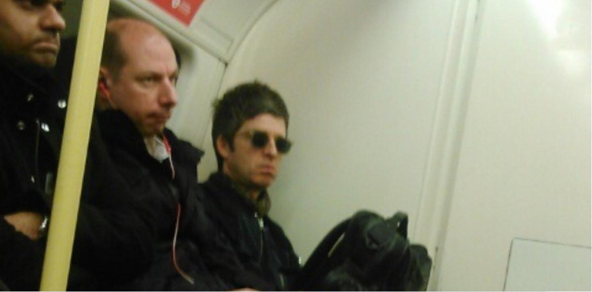 Tube Image Noel.Noel Gallagher Spotted Noel Gallagher Travels Tube Concert