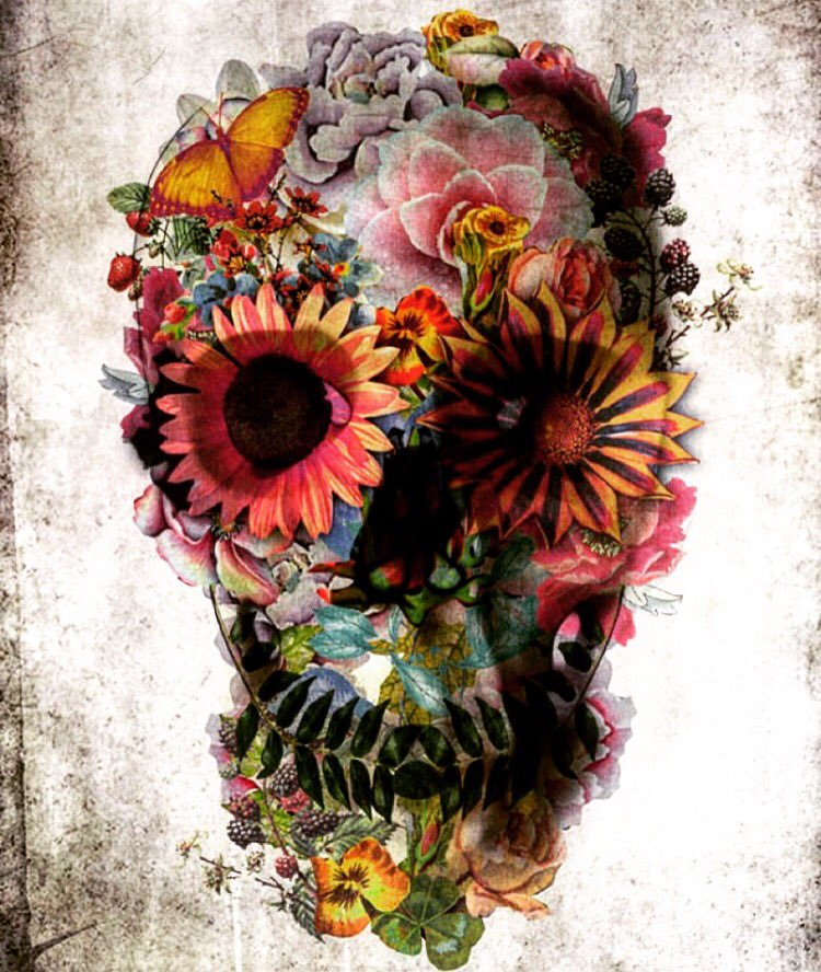 Beautiful death! #skull #art #beautiful https://t.co/WGcuaW49D1