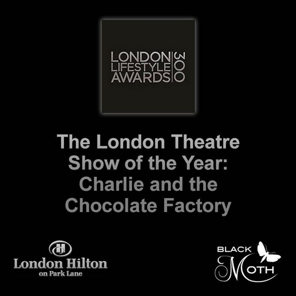 The London Theatre Show of the Year award goes to @charliechoc_uk. #congratulations #winne… https://t.co/QZcN4IsHZF https://t.co/YdcDf0EebO