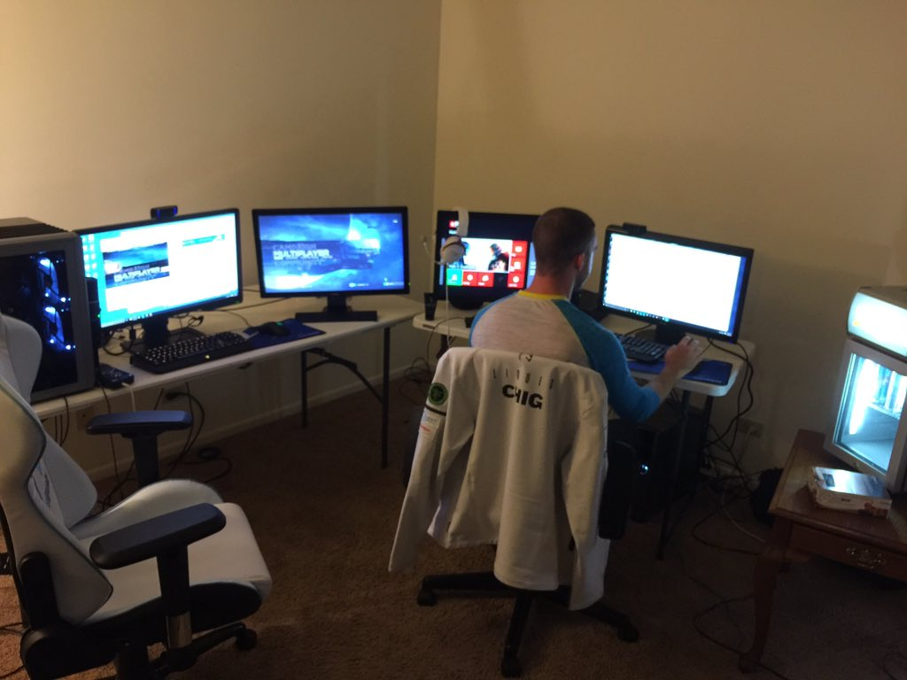 Ninja On Twitter The Gaming Setup For The Week Is Complete