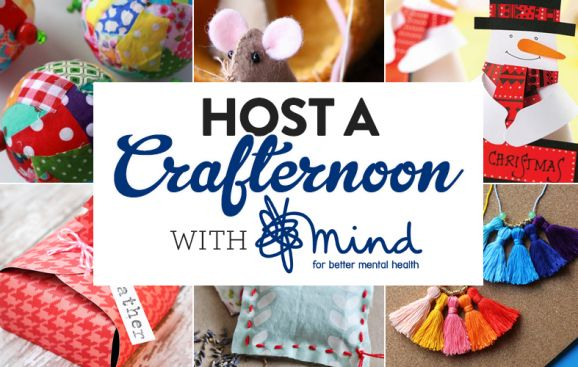 Host a #Crafternoon to raise money & awareness for @MindCharity with help from our blog post https://t.co/8QAIR6C4Xk https://t.co/Aqfe2wekyF