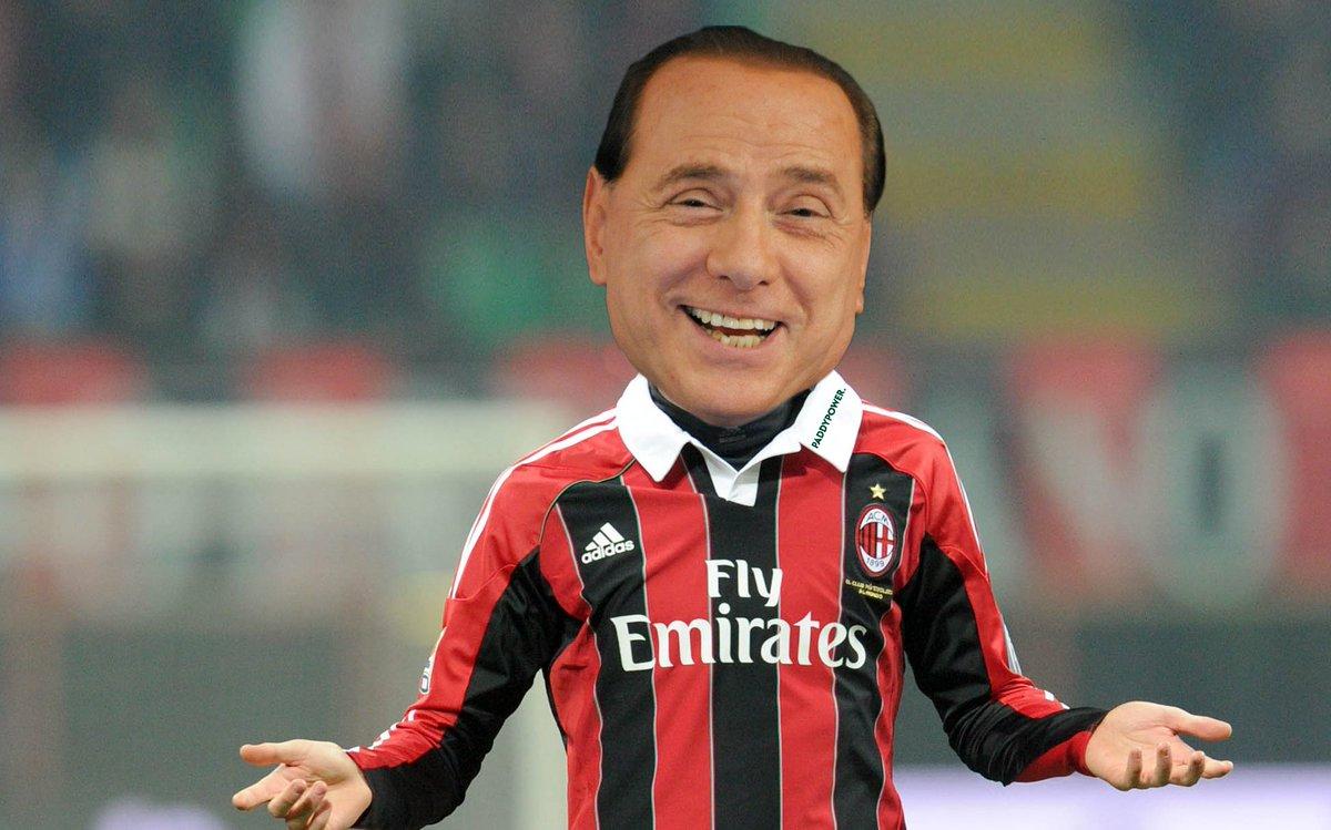 """#MilanChievo Berlusconi ironizza: """"Non va tanto bene, se ho tempo gioco io"""""""