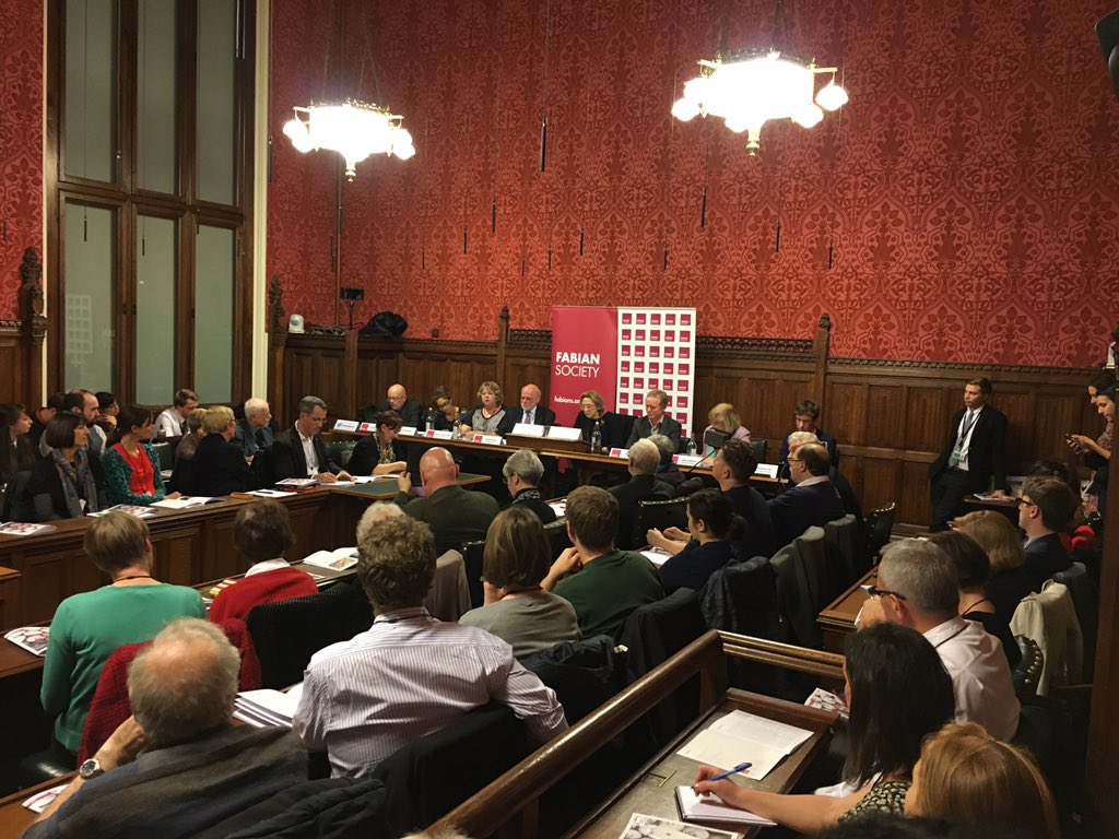 Launch of report of @thefabians #foodandpoverty Commission @UKParliament with expert panel, sobering stats indeed. https://t.co/anaG0P7rZ2