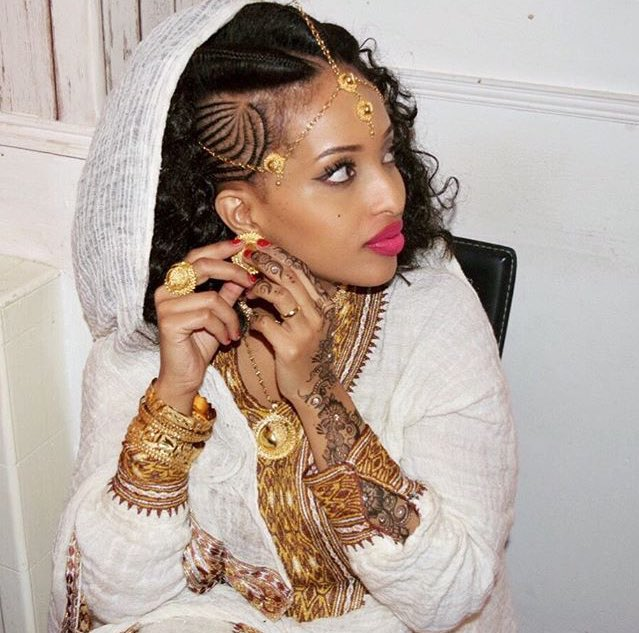 Habeshabeauties On Twitter Eritrean Bride In Traditional Clothing