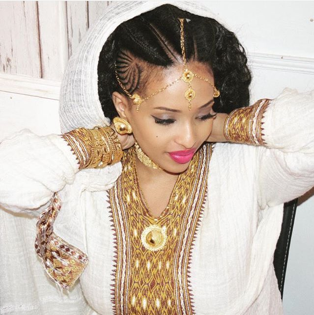 "Weddings Beauty And Attire: Habeshabeauties On Twitter: ""Eritrean Bride In Traditional"