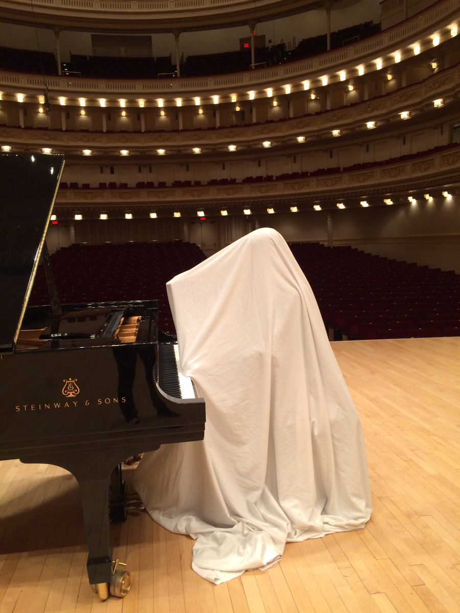 Haunting melodies from @carnegiehall #Halloween ;)
