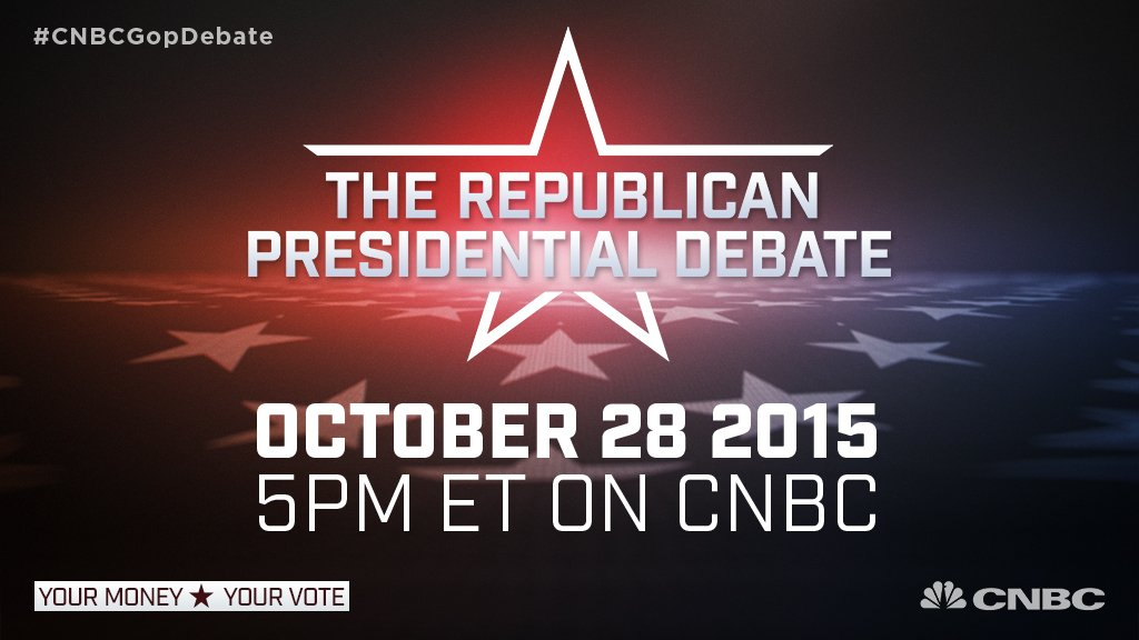 The candidates are about to square off. Get live updates here: https://t.co/tV9SImKPcT #CNBCGOPDebate #GOPDebate https://t.co/fuFIG8GPdP