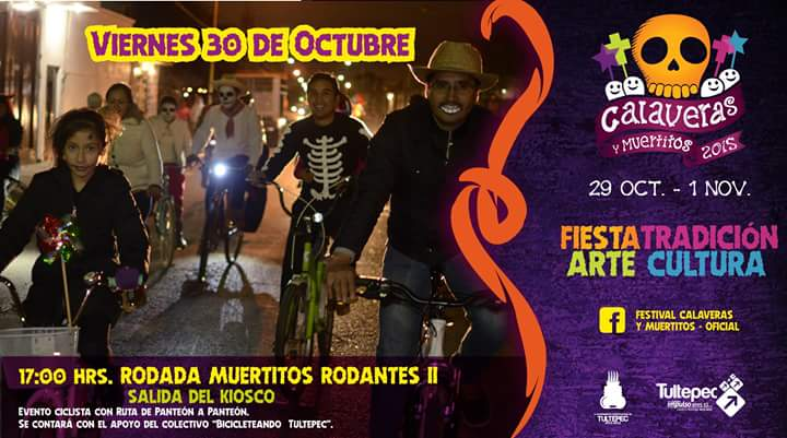 Aquí nuestra próxima rodada de #BicicleteandoTultepec en la #Capital de la #Pirotecnia  :D  @BicitlanRadio https://t.co/xBkl2CKziN