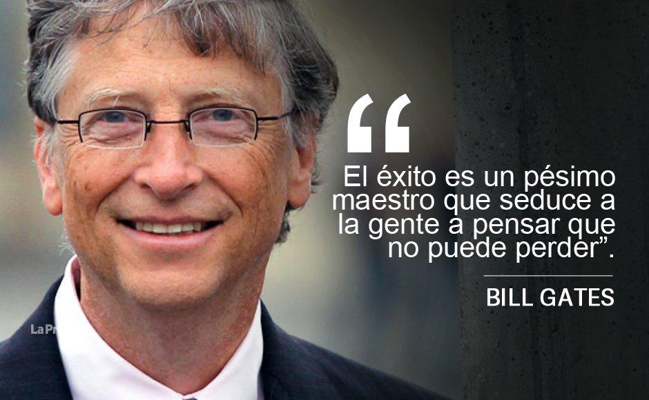 Programar Uno A La Ves Frases De Bill Gates