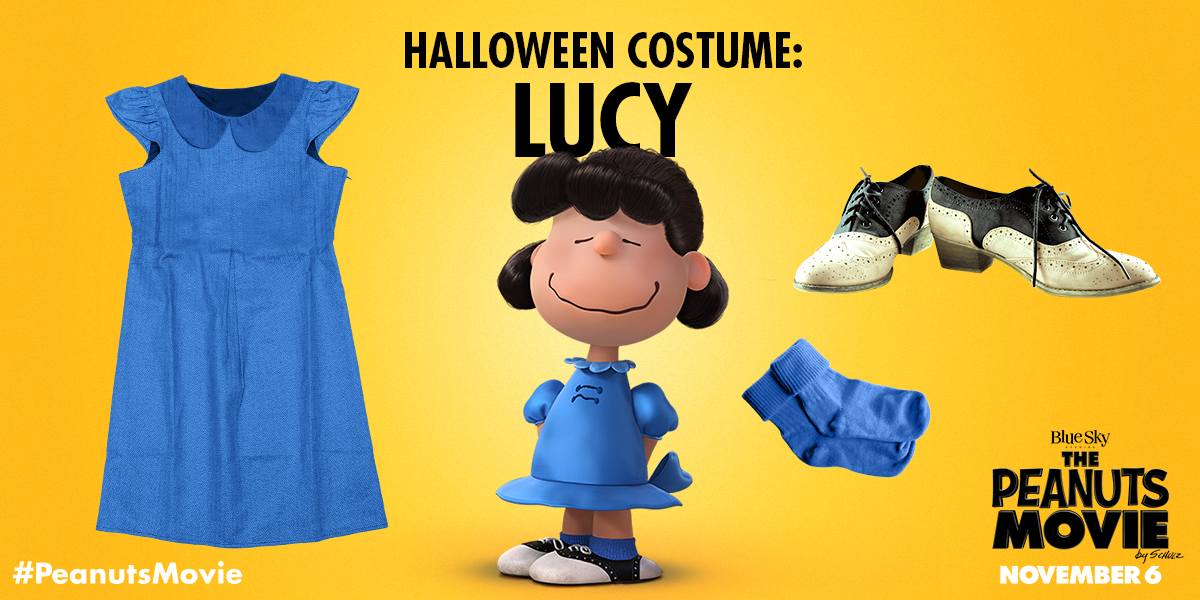 the peanuts movie on twitter heres some advice dress like lucy this halloween peanutshalloween httpstcos4ubxgynul