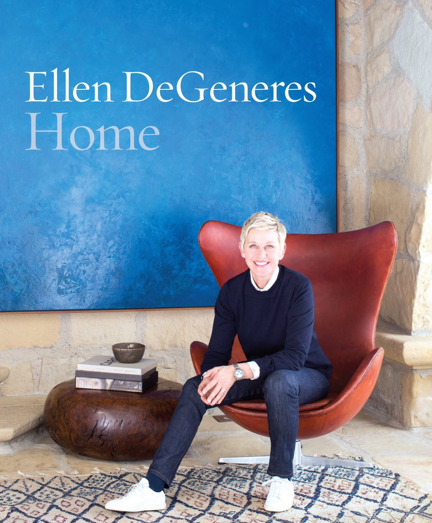 I believe your home should rise up to meet you. @TheEllenShow you nailed it with HOME.  Tweethearts, grab a copy! https://t.co/iFMnpRAsno