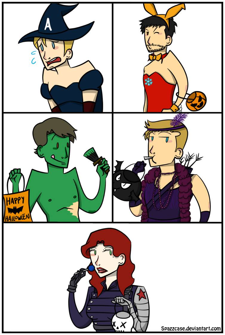 Happy Halloween, everyone! Don't forget to strut your stuff. (Credit: Spazzcase) #HappyHalloween