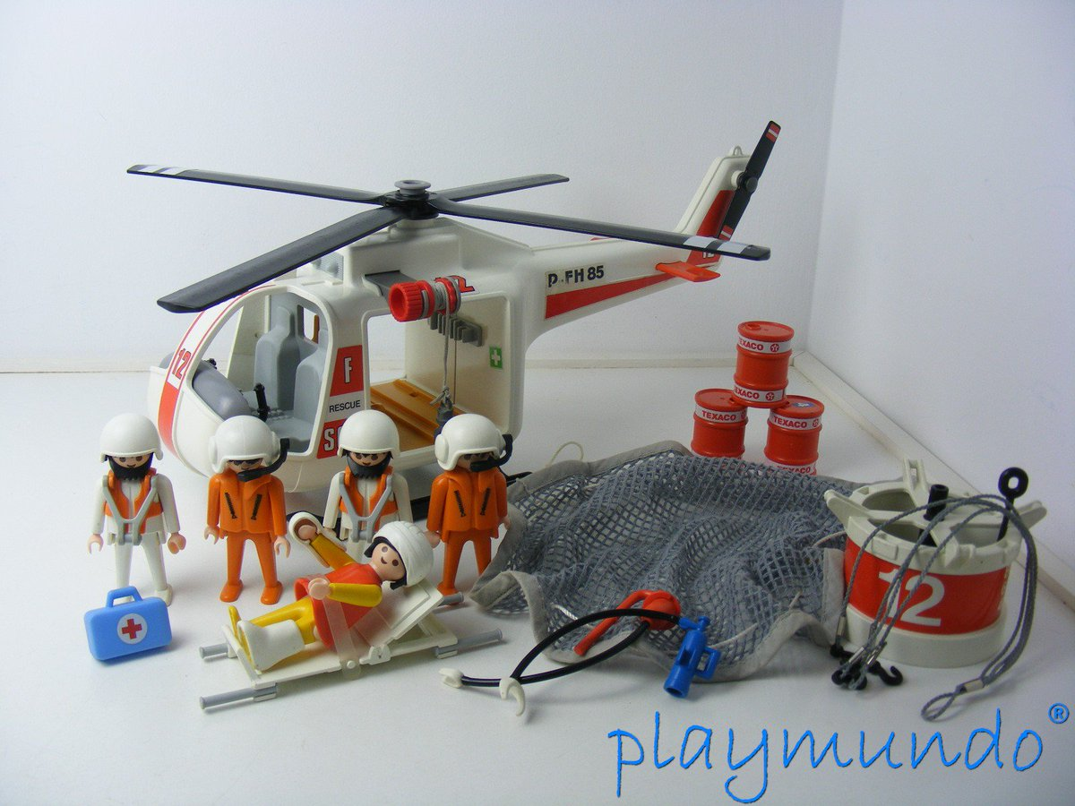 Playmundo on twitter playmobil 3789 helicopteros de for Helicoptero playmobil