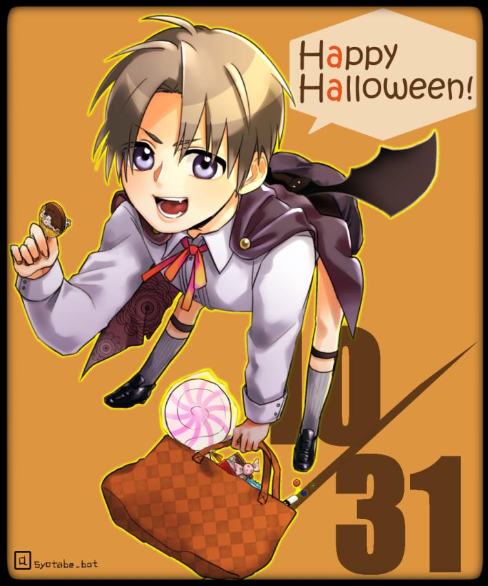 主!とりっくおあとりーとです!  【お知らせ】31日までショタ部に「つ【】」で物をあげるとハロウィン仕様でお菓子をくれるようになりました。