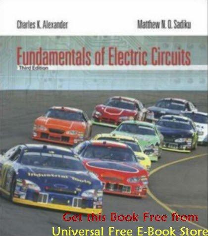 Fundamentals Of electric circuits 3rd Edition Alexander Sadiku