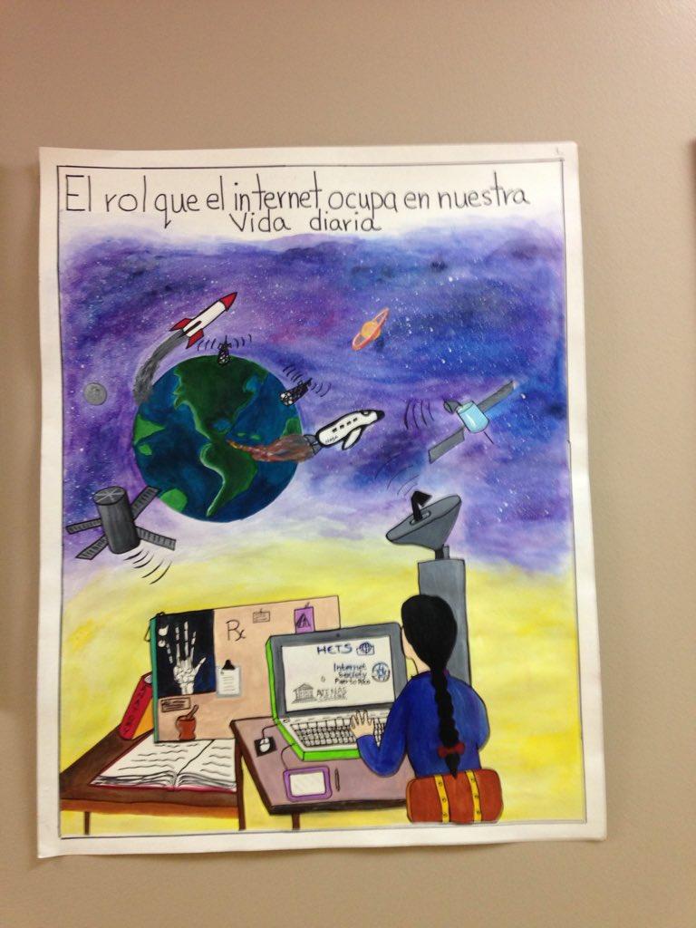 El afiche ganador del primer lugar del Programa de Radiología  #internetdaypr15 #atenascollege https://t.co/5qtE3Fsb9P