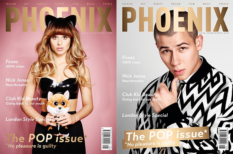 IT'S HERE! THE #POP ISSUE | AUTUMN 2015. Cover stars @nickjonas and @iamfoxes #Phoenixmag #Foxes #NickJonas https://t.co/ACkbFVgnGI
