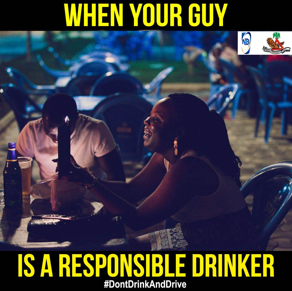This is for the ladies. Correct guys don't drink and drive. #DontDrinkAndDrive https://t.co/rk8no0PadK