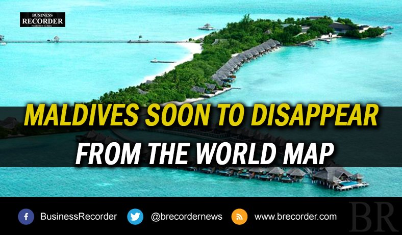 Business Recorder On Twitter Maldives Disappear WorldMap - Where is the maldives on the world map