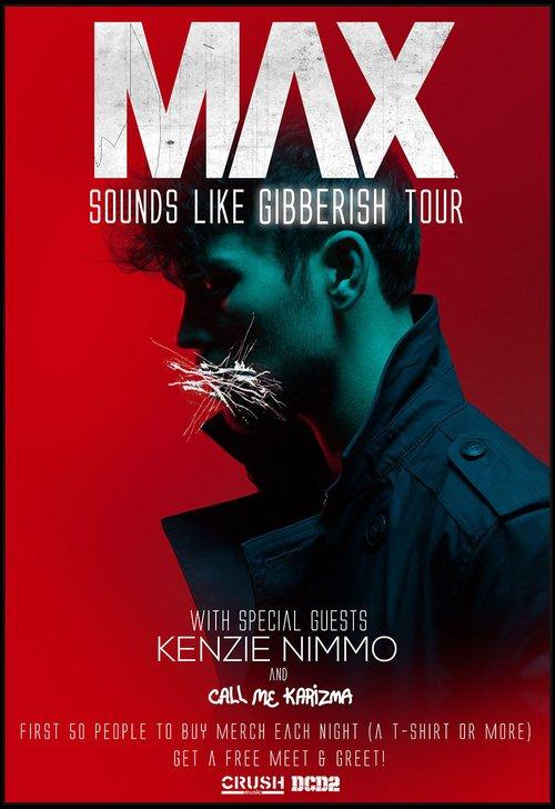 Just a few tickets left for @Maxgschneider @CallMeKarizma @kenzienimmo TONIGHT! Get em here: https://t.co/XiP6UavmxG https://t.co/f8hWlD3gCB