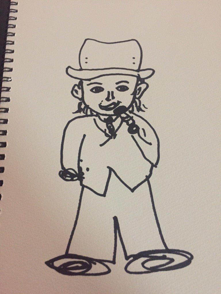 ラブオンハイスクールイベント超楽しかったですー*\(^o^)/*ありがとうございました!!ソンヨルさんとウヒョンさんが描いてくれたわたし*\(^o^)/*宝物*\(^o^)/* https://t.co/1Jf2Z4stbi