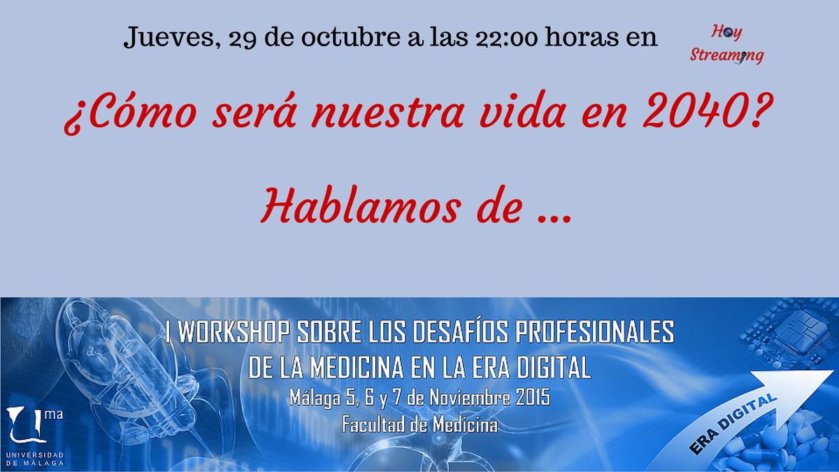 A las 22:00 en #directo anticipo de #ConvergenciaSalud en #HoyStreaming¿Visitamos el futuro? https://t.co/2REdE40xJf https://t.co/YaU87p5e20