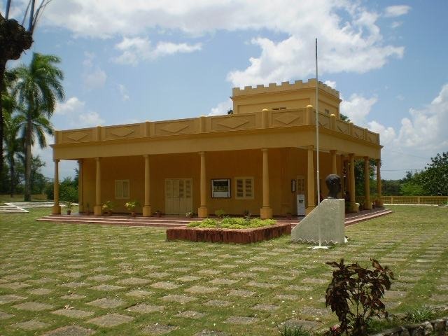 Nico Lopez Park Museum, venue of the commemoration of July 26 in Granma province.
