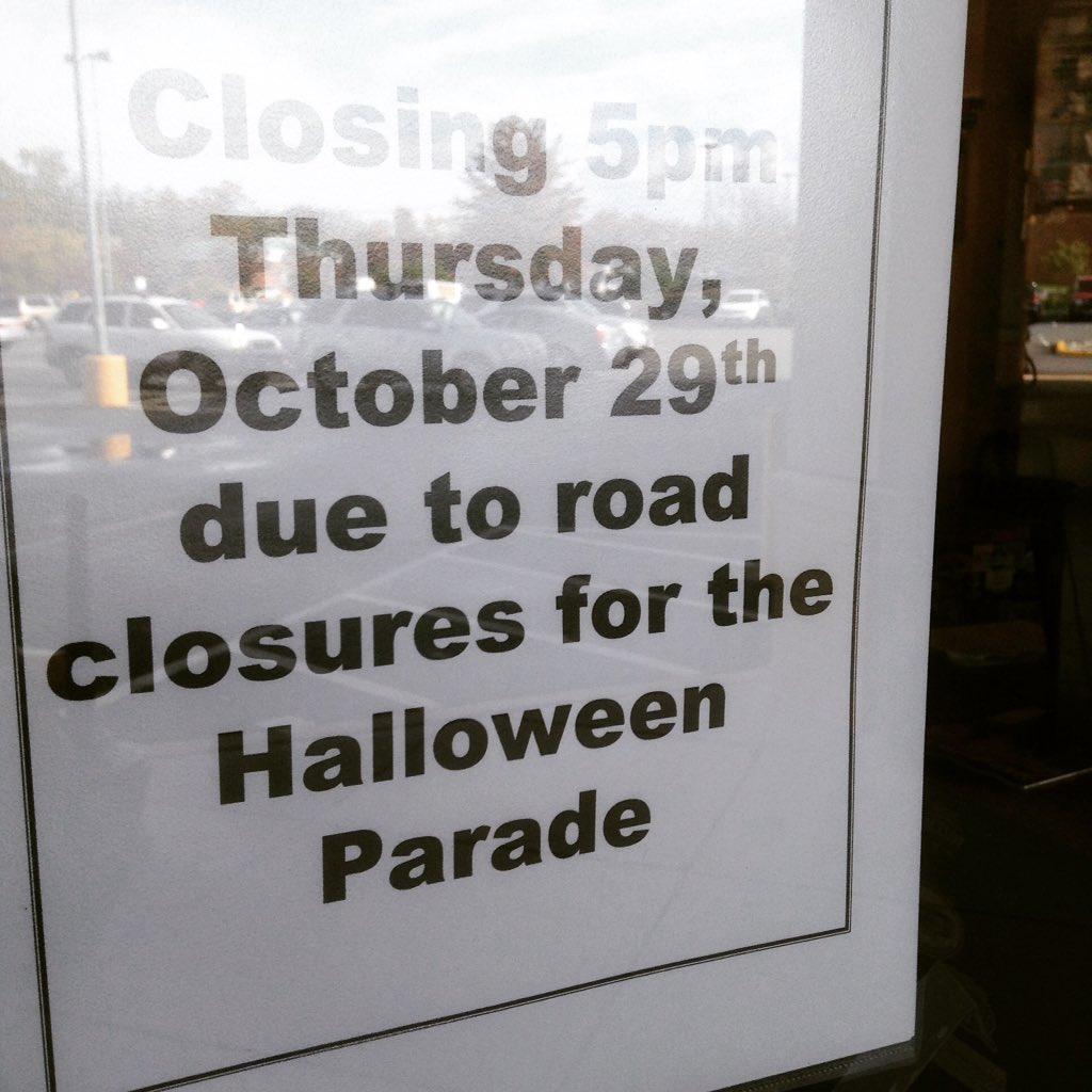 vienna halloween parade rescheduled for today nbw closing at 5pm normsbeerandwine good stuff coming - Vienna Va Halloween Parade