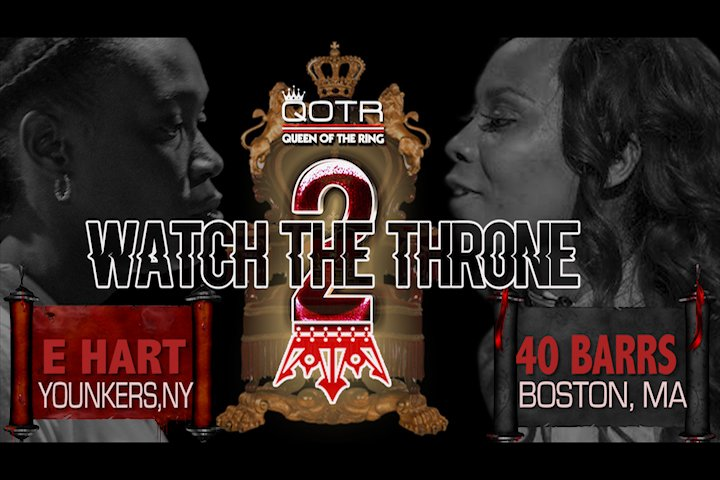 Y'ALL NOT READY!!! #QOTR #WTT2  HISTORY WILL BE MADE!!! E HART vs 40 BARRS https://t.co/87YIZWiejD https://t.co/8c7MWvs4my